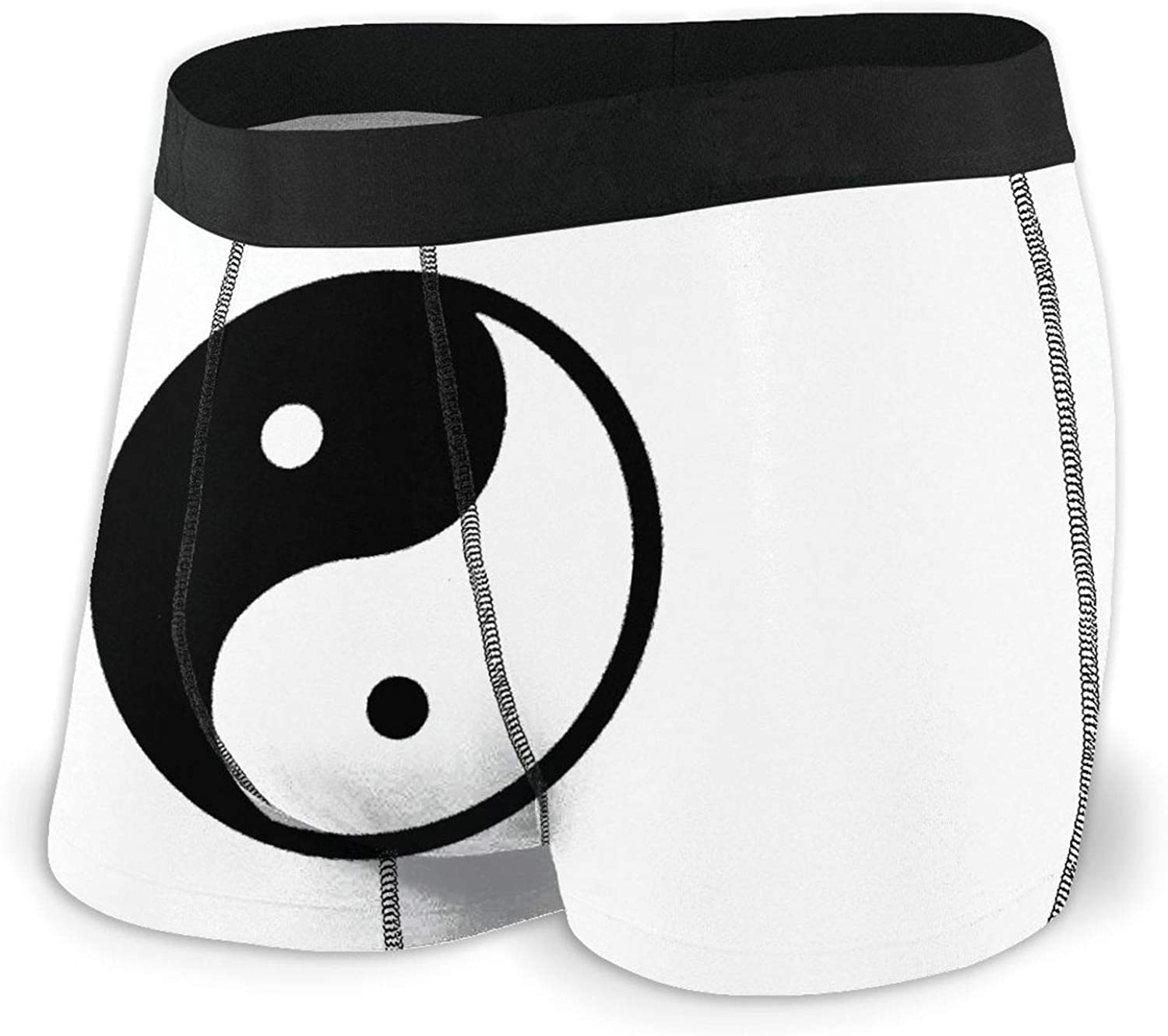 Yin Yang Black and White Breathable At Popular shop is the lowest price challenge the price of surprise Boxer Men's Comfortab Briefs