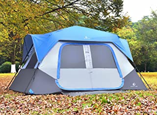 ALPHA CAMP Instant Tent for Camping Easy Setup Cabin Tent with Foot Mud - 10' x 9'