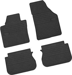 Bär AfC VW04074 Gummimatten Auto Fußmatten Schwarz, Erhöhter Rand, Set 4 teilig, Passgenau für Modell Siehe Details