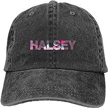 100% Cotton Halsey-Badlands World Tour Six Panel Cap Hat Black