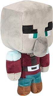 "JINX Minecraft Happy Explorer Pillager Plush Stuffed Toy, Black, 7"" Tall"