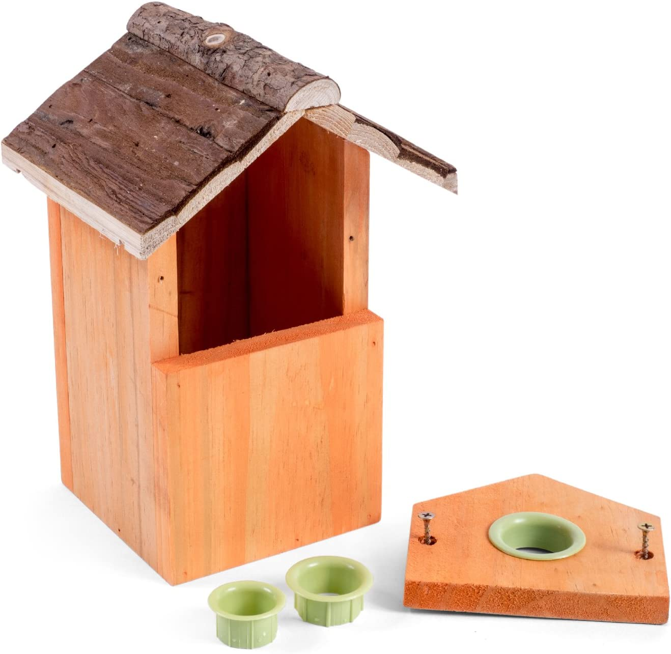Beige Petface Multi Nest Box barked 12x12.5x26 cm