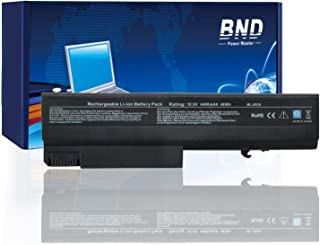 BND Laptop Battery for Compatible with HP EliteBook 8440P 6930P 8440W/ Compaq 6730B 6735B 6530B / ProBook 6440B 6445B 6540B 6545B, fits P/N 482962-001 HSTNN-UB69-12-Month-Warranty[4400mAh/48Wh Li-ion]