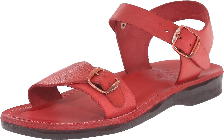 Jerusalem Sandals Women's The Original Rubber Gladiator Brown
