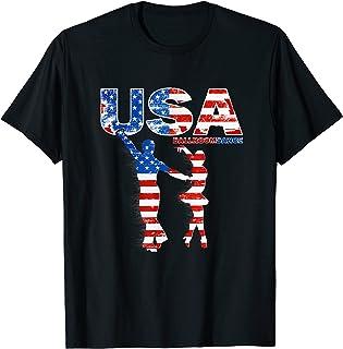 USA 社交ダンスシャツ 社交ダンス 社交ダンス Tシャツ