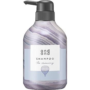 andand(アンドアンド) 気ままに 【ティーハーモニーの香り】 シャンプー ポンプ 480ml [ ノンシリコン 処方 ]