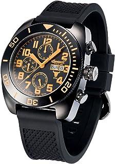 インガーソル 腕時計 自動巻き フルカレンダー 限定生産品 X 2999のシリアルナンバー入り Bison NO. 60 IN1306BKBK [並行輸入品]