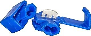 50 PCS Blue Solderless Quick Splice Snap Wire Connector, 18 Through 14 Gauge