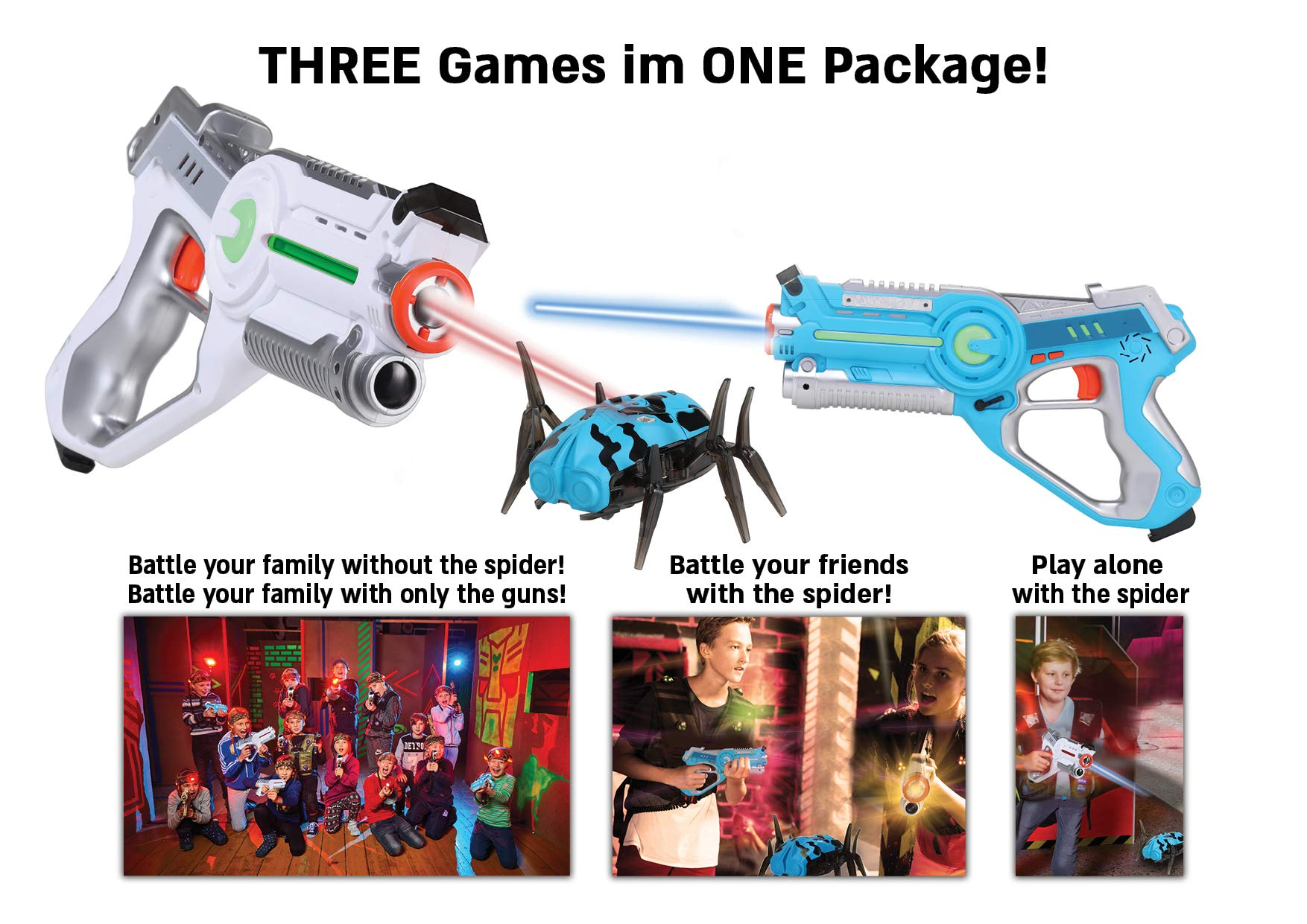Children Infrared Blaster Birthday Parties