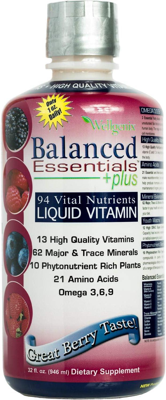 Balanced Essentials Award Liquid Max 81% OFF Nutritional Supplement 32 - V Ounces