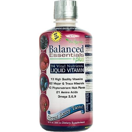 Balanced Essentials Liquid Nutritional Supplement, 32 Ounces - Very Berry