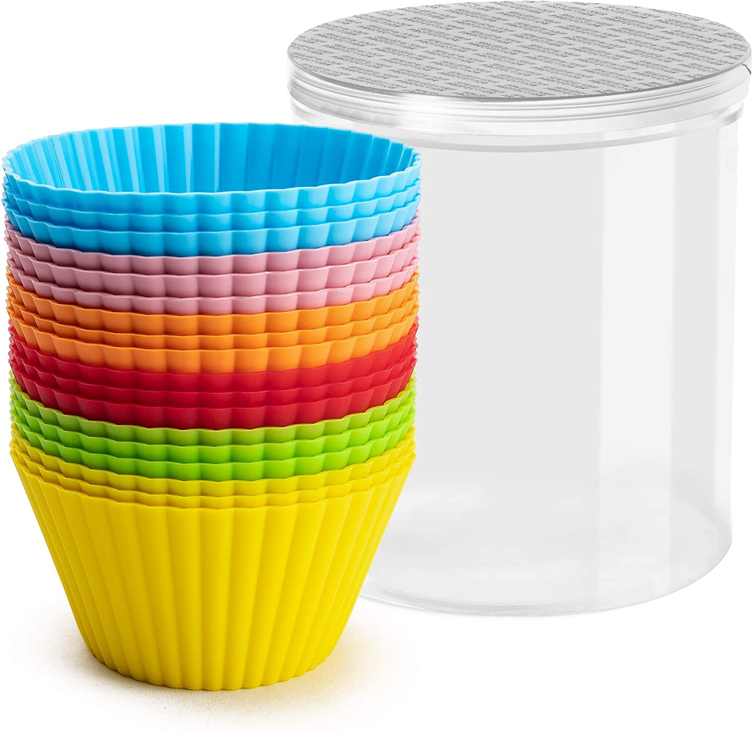 R HORSE 18 Pcs Jumbo Silicone inch Cheap mail order specialty store 3.54 Non-St Lagre Baking Don't miss the campaign Cups
