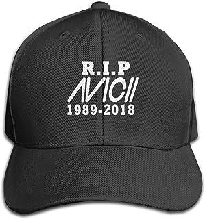 2431b7b967dd9 Lawsonnd Barded Unisex Av-icii Art Cartoon Logo Adjustable Dad Trucker Hat