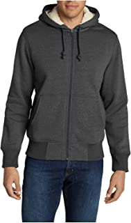 Men's Cascade Falls Sherpa-Lined Hoodie, Charcoal HTR Regular L