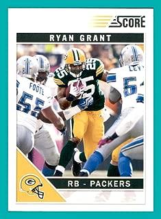 2011 Score #111 Ryan Grant GREEN BAY PACKERS NOTRE DAME FIGHTING IRISH
