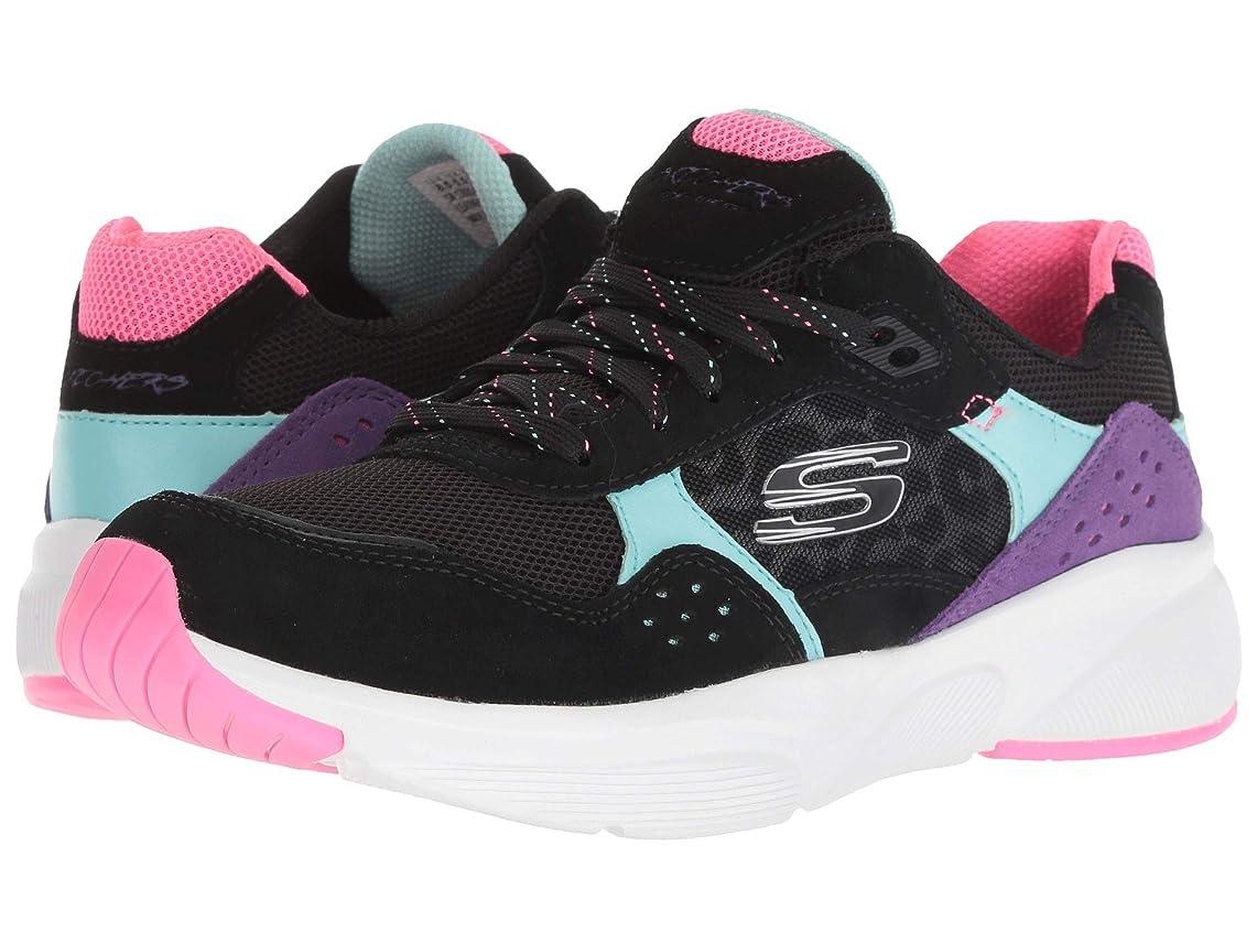 歌アノイグラマーレディーススニーカー?ウォーキングシューズ?靴 Meridian - No Worries Black Multi 9 (26cm) B [並行輸入品]