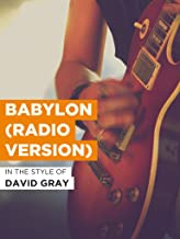 Babylon (Radio Version)