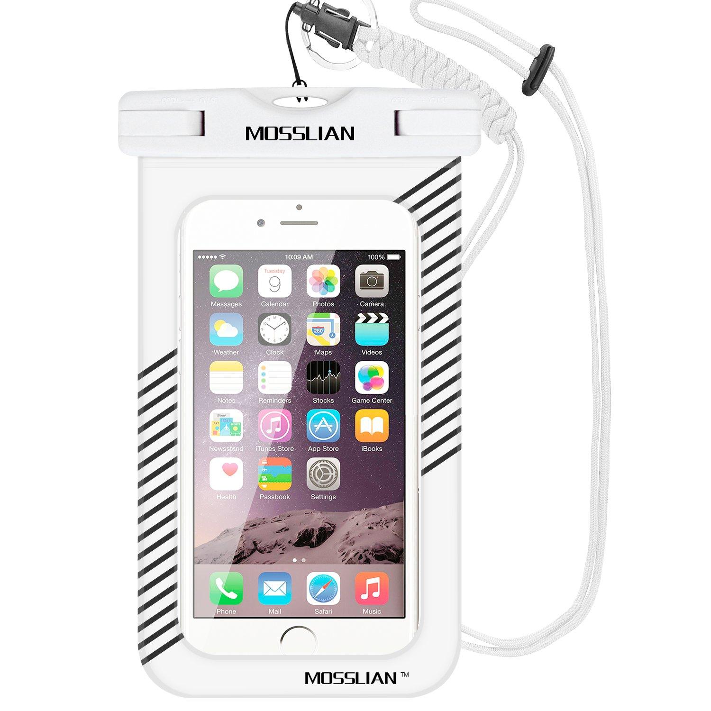 Mosslian - Funda impermeable de TPU blando, para smartphone de 6 ...