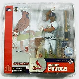 McFarlane Toys MLB Sports Picks Series 10 Action Figure Albert Pujols (St. Louis Cardinals) Gray Jersey