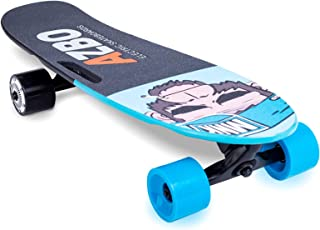 Electric Skateboard Longboard with Remote Control   UL2272 Certified/Motorized Powered Board C4-11.2 MPH High-Speed 7 Layers Maple Electric Longboard Best Gift for Adults