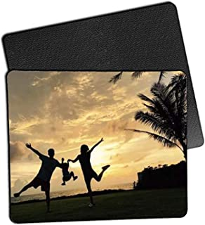 9PCS Blank Mouse Pad for Sublimation Transfer Heat Press Printing Crafts