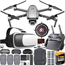 $1999 » DJI Mavic 2 Pro Drone Fly More Combo with Hasselblad Camera FPV Flight Pilot Experience Bundle with Deco Essentials VR Viewer Headset Goggles + Filter Kit + 64GB SDXC Card, 2 Year Warranty Extension