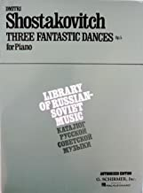 Shostakovitch - Three Fantastic Dances Op. 5