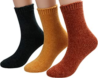 Womens Warm Soft Winter Socks Thick Knit Socks For Cold Weather 5-10 G-3