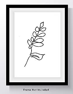 Best simple line art flowers Reviews