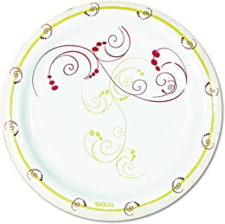 Solo MP6-J8001 6 in Symphony Paper Plate, Medium Weight (Case of 1000)