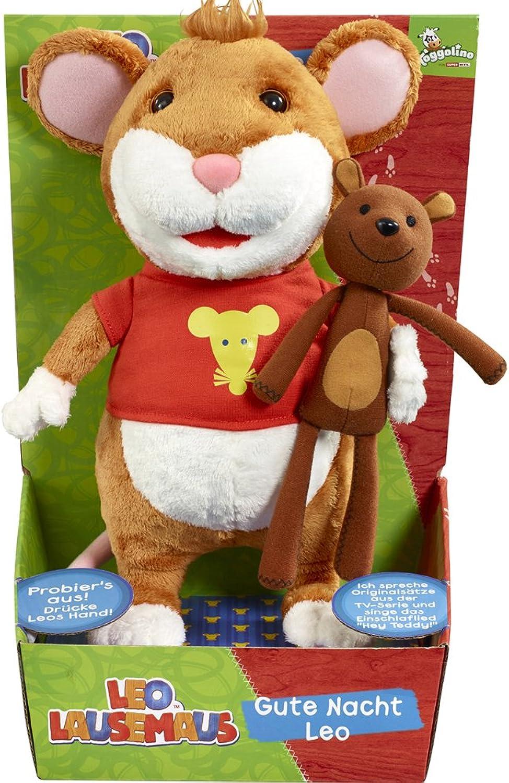 Leo Lausemaus 40254.3000 Good Night Plush Toy