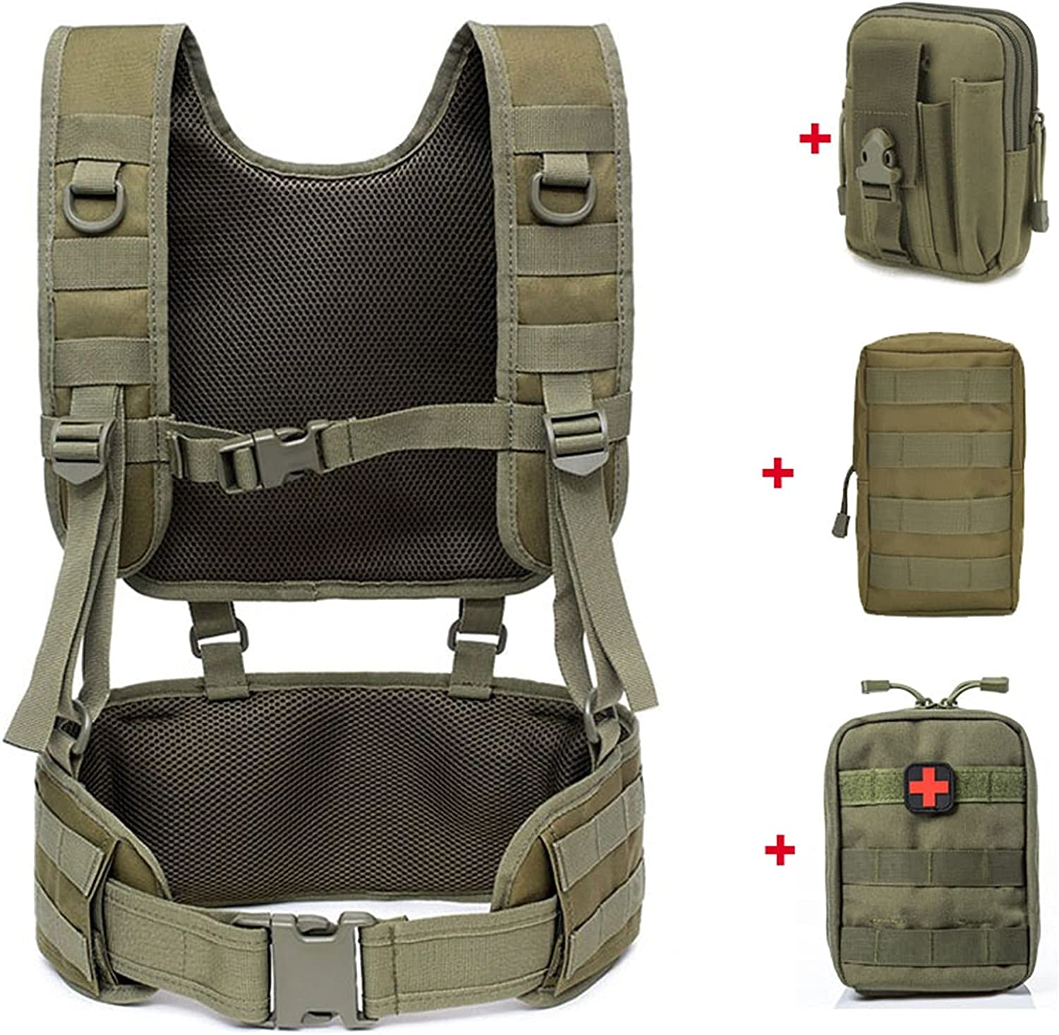 Our shop OFFers the best service LQMM Tactical Military Belt Outdoor Army Product Sling Combat Be Airsoft
