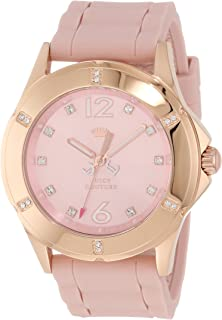 Juicy Couture Women's 1900997 Rich Girl Rose Gold-Plated Stainless Steel Watch