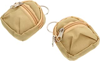 Taschen Anhänger Charm Blogger Schlüsselanhänger mini Rucksack Nieten Rosa