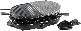 Rosenstein söhne &raclette pour 8: moitié grill ou semi-pierres chaudes