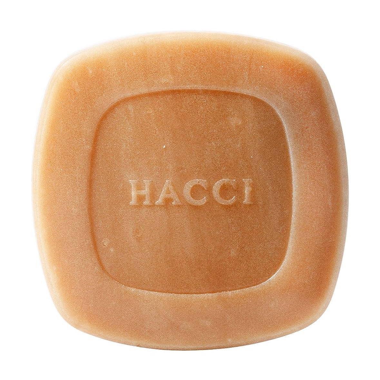 ハリケーン男らしい大胆不敵HACCI 1912(ハッチ1912) はちみつ洗顔石けん 80g