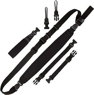 OP/TECH OP S SCC/BK Super Classic Combo Shoulder/Neck/Wrist Strap, Black