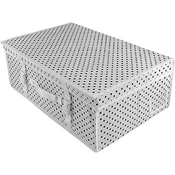 Hangerworld Caja de Ordenación 50x80x20cm Transpirable con Tapa Protege tu Traje de Novia Blanco: Amazon.es: Hogar