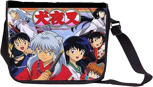YOYOSHome Anime Inuyasha Messenger Bag Cosplay Shoulder Bag Handbag Backpack School Bag