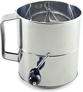 Norpro Cup Flour Sifter, Silver