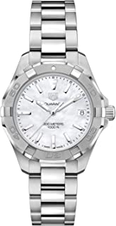 Aquaracer White Mother of Pearl Dial Ladies Watch WBD1311.BA0740