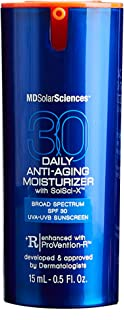 MDSolarSciences Daily Anti-Aging Moisturizer SPF 30 Sunscreen - 2-in-1 Face Moisturizer and Sunscreen Hydrates Skin and Pr...