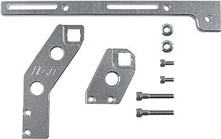 ICT Billet LS3 Adjustable Throttle Cable Bracket For 102mm Fabricated Aftermarket Sheet Metal Intake Rectangle Port Designed and Manufactured in USA Billet Aluminum 551447