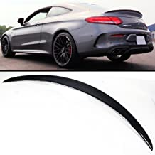Cuztom Tuning Fits for 2017 2018 2019 Mercedes Benz W205 C300 C63 C43 2 Door Coupe Carbon Fiber Trunk Spoiler Wing