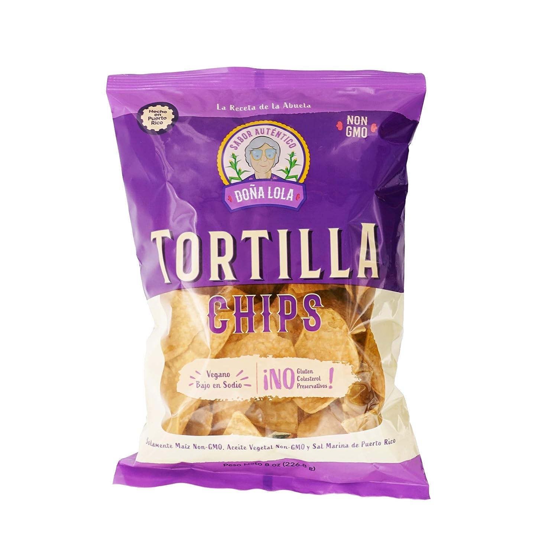 mart TORTILLA CHIPS DOÑA LOLA: Non-GMO Corn Gluten-Free White Pl Max 48% OFF