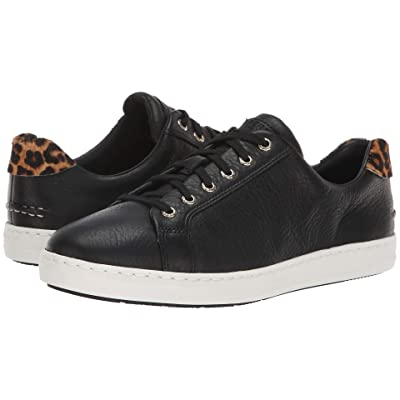 Sperry Rey LTT (Black/Leopard Pony) Women