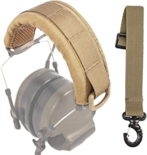 GVN Tactical Headband Advanced Modular Headset Cover Fit For All General Tactical Earmuffs Accessories Upgrade Bags Case