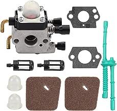 Yermax Zama C1Q-S71 Carburetor Carb + Air Filter Fuel Line Kit for Stihl HL45 HL45Z HL45DZ KM55 KM55C KM55R KM55RCTrimmer