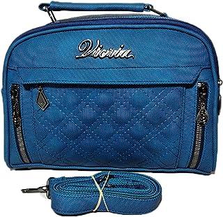 فيكريا حقيبة للنساء-ازرق - حقائب طويلة تمر بالجسم