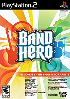 Band Hero Stand Alone Software - PlayStation 2